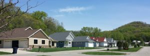 Advanced Seamless Row of homes new